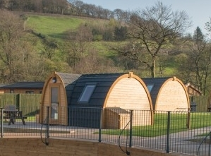 Glamping Pods Peak District National Park